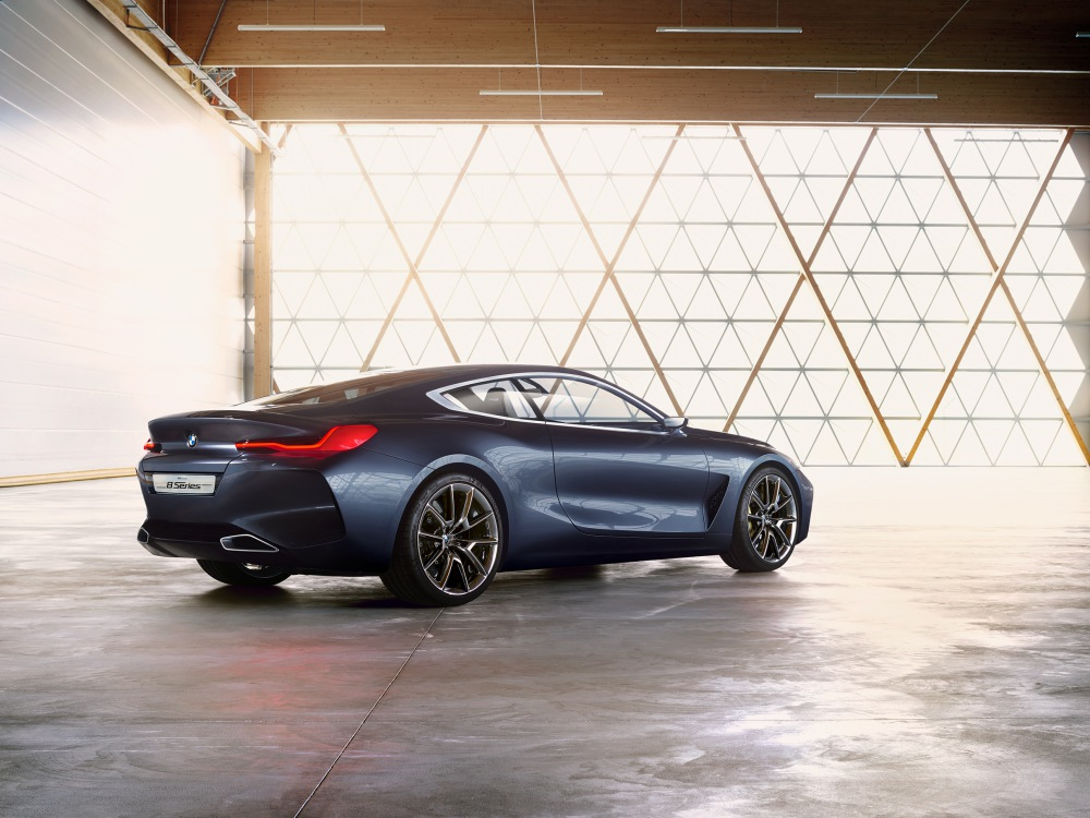 BMW Concept 8 Series luxury car 1 - BMW Concept 8 Series 奢华桥跑立新标准!