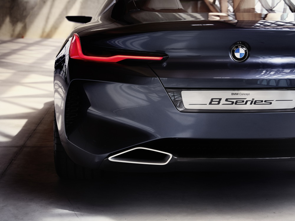 BMW Concept 8 Series luxury car 3 - BMW Concept 8 Series 奢华桥跑立新标准!