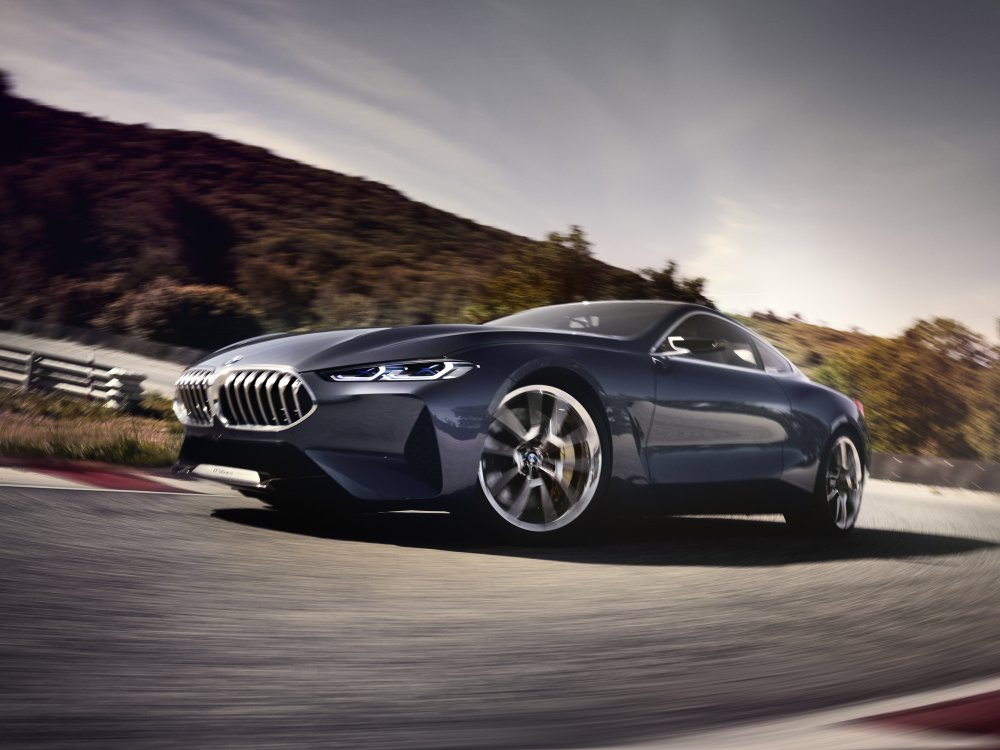 BMW Concept 8 Series luxury car 6 - BMW Concept 8 Series 奢华桥跑立新标准!