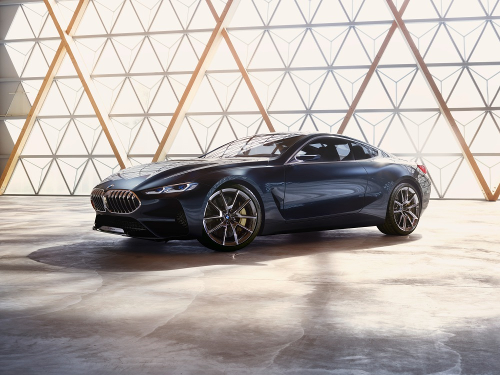 BMW Concept 8 Series luxury car BIG - BMW Concept 8 Series 奢华桥跑立新标准!