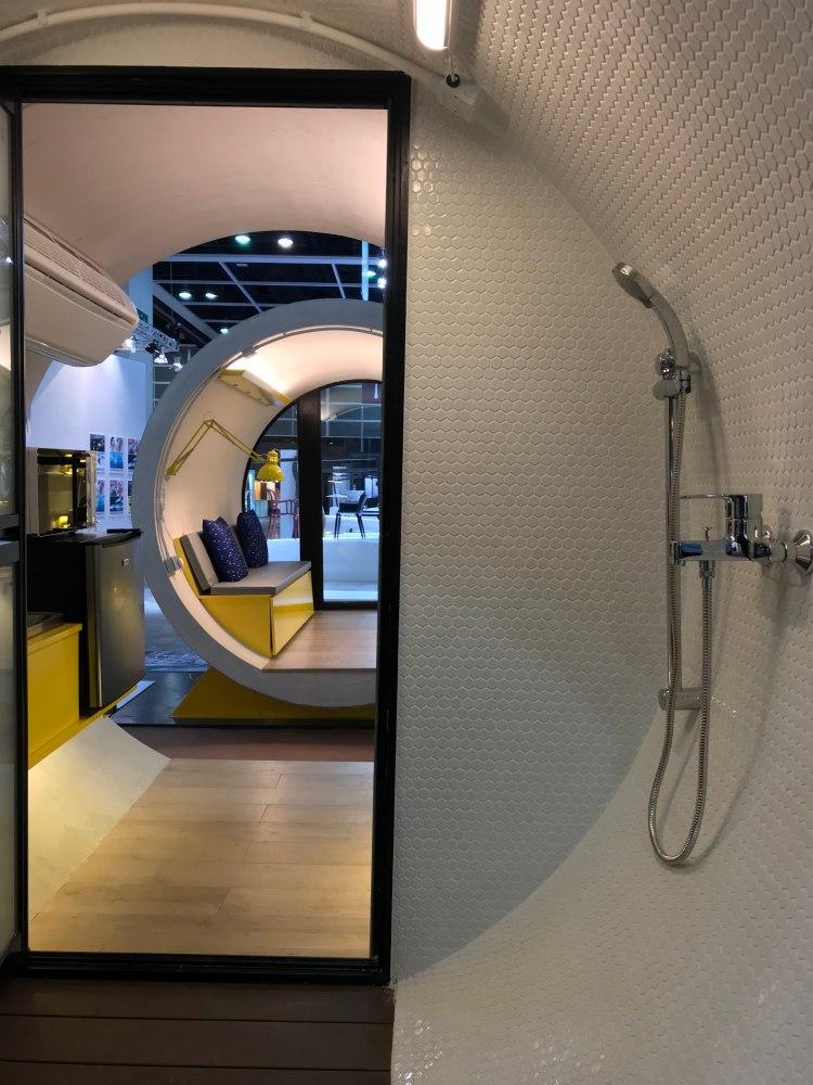 Hong Kong OPod Tube Housing by James Law 1 - 香港OPod水管屋,精巧创新的实际住宿模式!