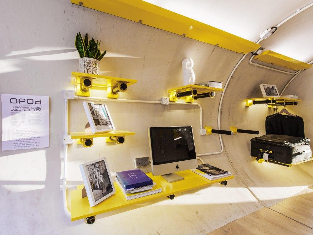 Hong Kong OPod Tube Housing by James Law 3 - 香港OPod水管屋,精巧创新的实际住宿模式!