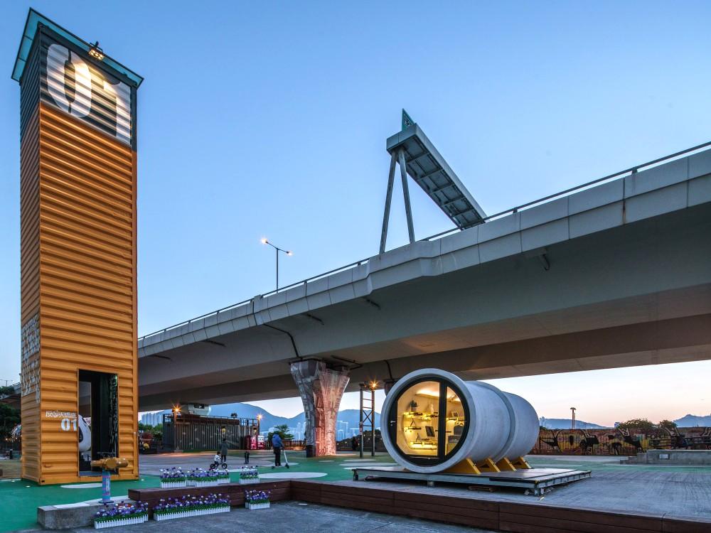 Hong Kong OPod Tube Housing by James Law 6 - 香港OPod水管屋,精巧创新的实际住宿模式!