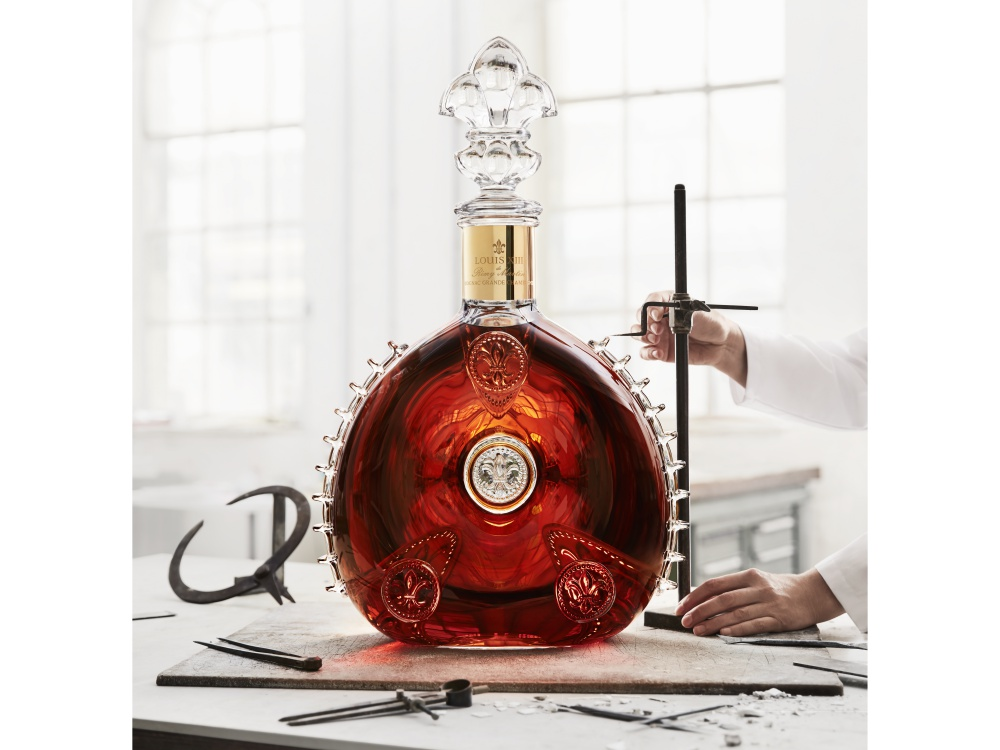Louis XIII le Salmanazar 9 liter crystal decanter BIG - Louis XIII 独有的九公升水晶臻品