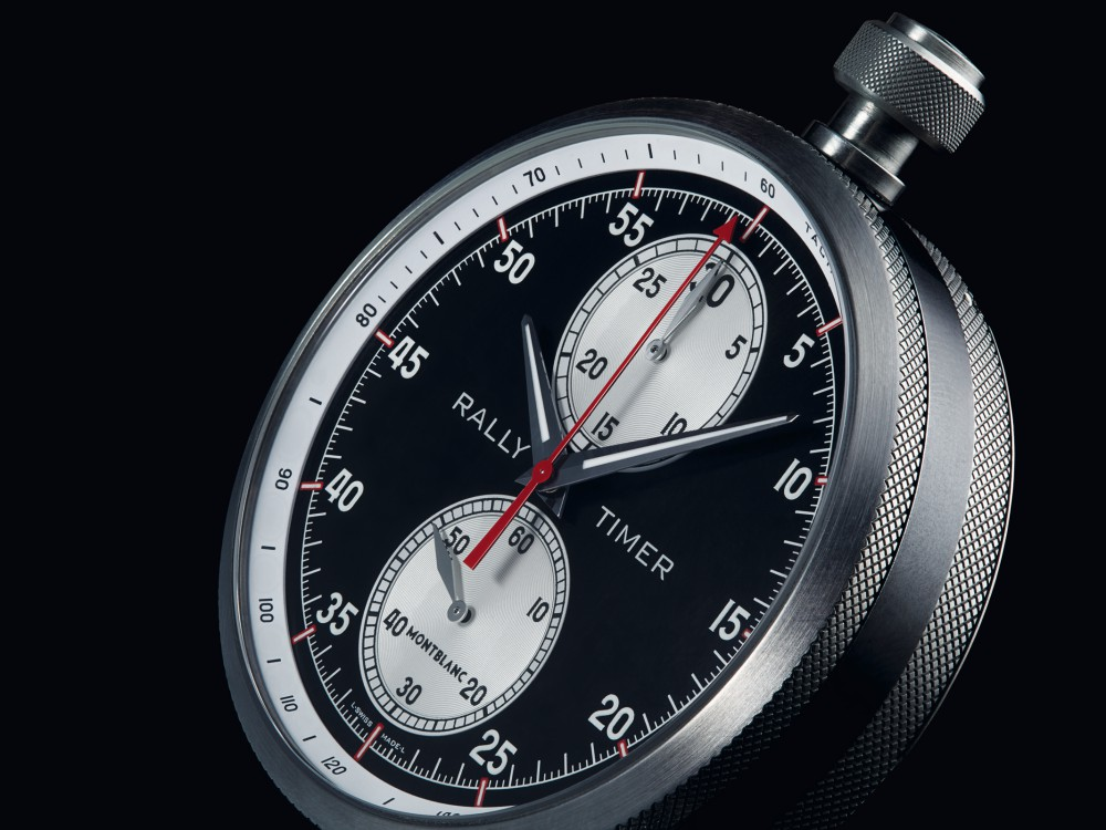 Montblanc TimeWalker Rally Timer Chronograph Limited Edition 100 2 - Montblanc 赛车风格的复古时计