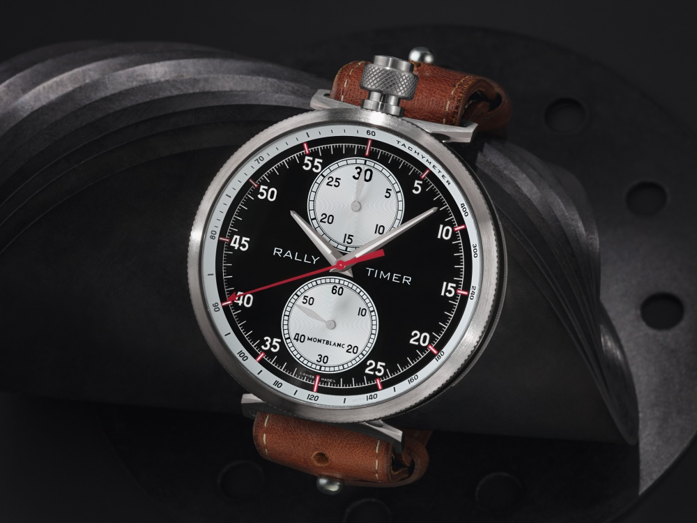 Montblanc TimeWalker Rally Timer Chronograph Limited Edition 100 3 - Montblanc 赛车风格的复古时计