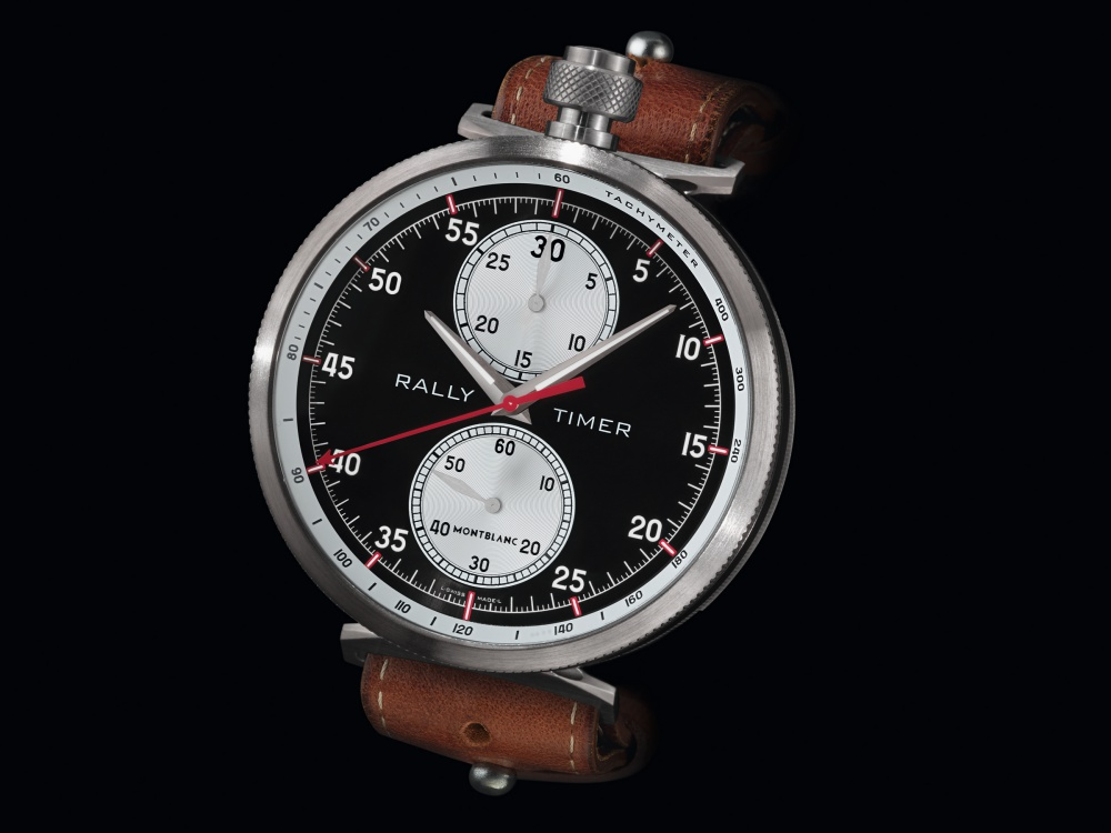 Montblanc TimeWalker Rally Timer Chronograph Limited Edition 100 4 - Montblanc 赛车风格的复古时计