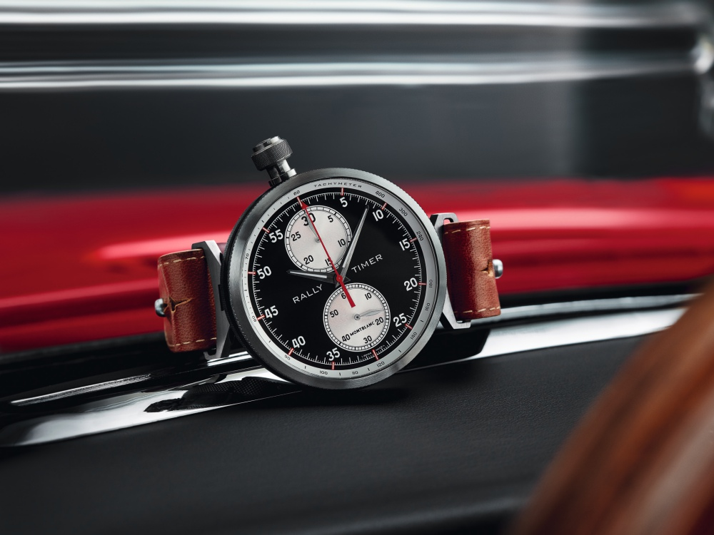 Montblanc TimeWalker Rally Timer Chronograph Limited Edition 100 BIG - Montblanc 赛车风格的复古时计