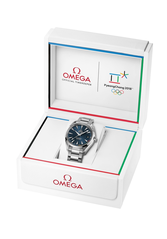 Omega and Pyeong Chang Olympic Winter Games 2018 seamaster aqua terra 2 - Omega 再为冬奥会纪录历史性时刻!