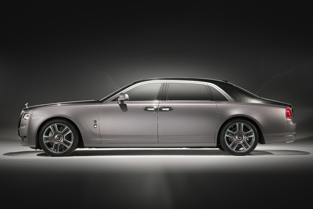 Rolls Royce the year of bespoke Ghost Elegance - Rolls-Royce 顶尖完美诠释客制化豪车!