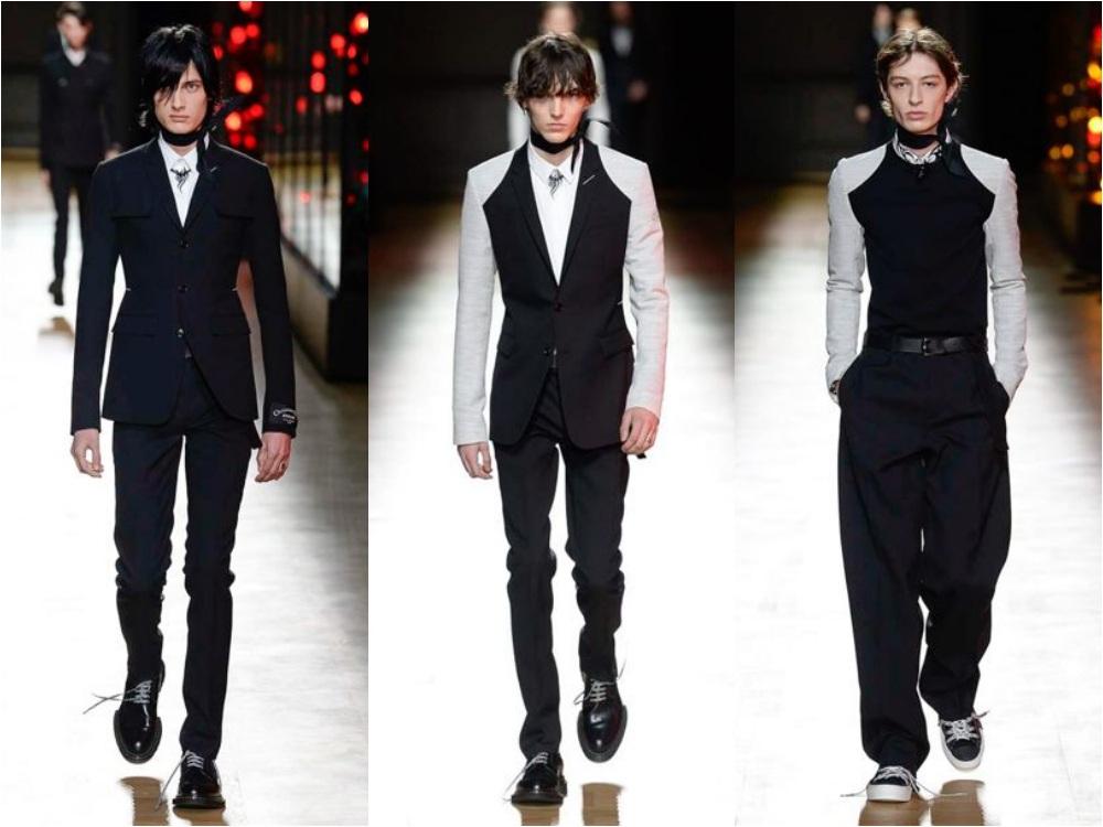 dior homme fall winter 2018 menswear 1 - 秋冬时尚看点,尽情张扬创新与气派!