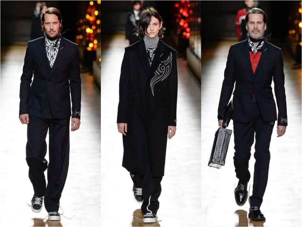 dior homme fall winter 2018 menswear 2 - 秋冬时尚看点,尽情张扬创新与气派!