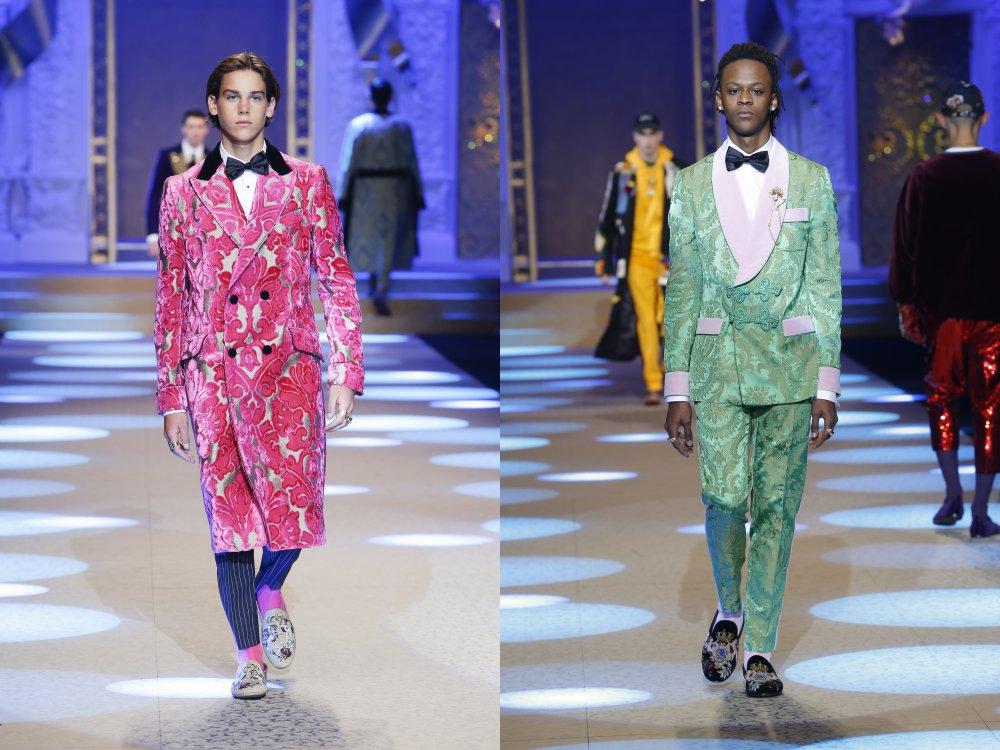 dolce gabbana fall winter fashion show 2018 5 - 秋冬时尚看点,尽情张扬创新与气派!