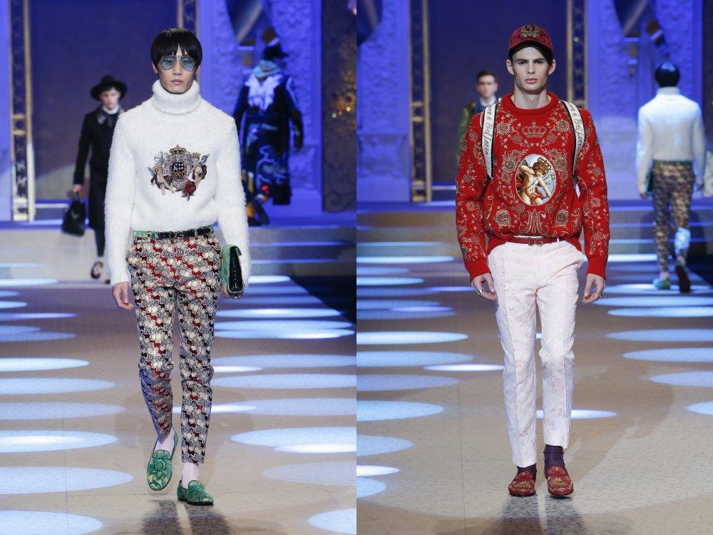 dolce gabbana fall winter fashion show 2018 8 - 秋冬时尚看点,尽情张扬创新与气派!