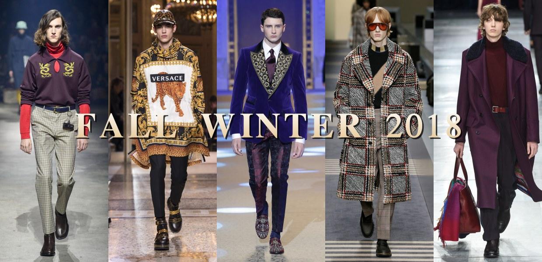 fall winter fashion menswear collection 2018 BIG  - 秋冬时尚看点,尽情张扬创新与气派!