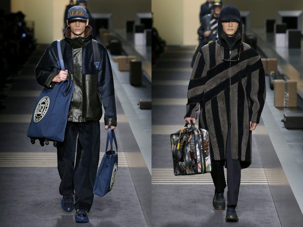 fendi fall winter 2018 menswear collection 5 - 秋冬时尚看点,尽情张扬创新与气派!