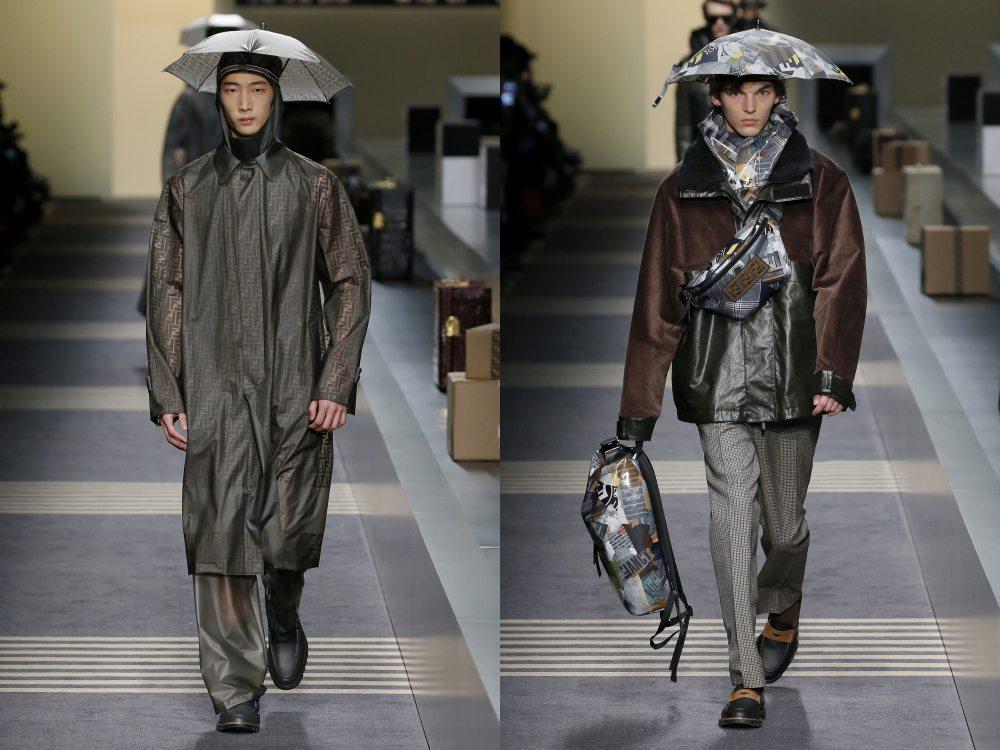 fendi fall winter 2018 menswear collection 6 - 秋冬时尚看点,尽情张扬创新与气派!