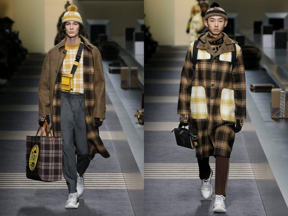 fendi fall winter 2018 menswear collection 8 - 秋冬时尚看点,尽情张扬创新与气派!