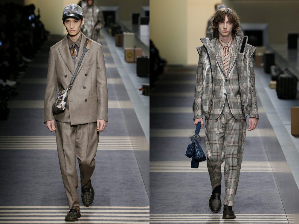 fendi fall winter 2018 menswear collection 9 - 秋冬时尚看点,尽情张扬创新与气派!