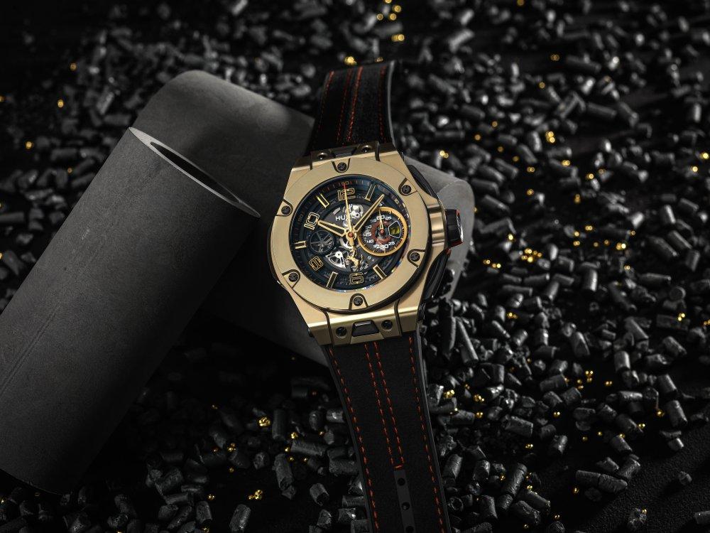 hublot big bang ferrari magic gold watch 2 - Hublot Big Bang Ferrari Magic Gold 金姿酷势!