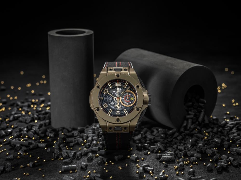 hublot big bang ferrari magic gold watch BIG  - Hublot Big Bang Ferrari Magic Gold 金姿酷势!