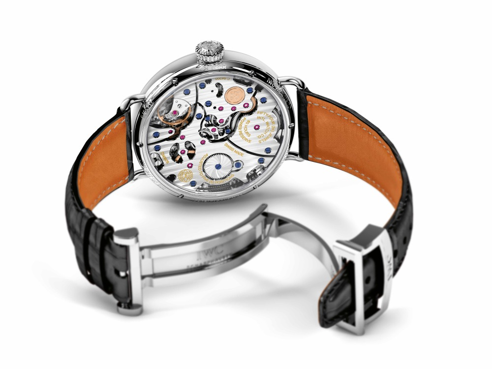 iwc tribute to pallweber edition 150 years 3 - IWC Pallweber 回首致敬,再现怀旧风雅