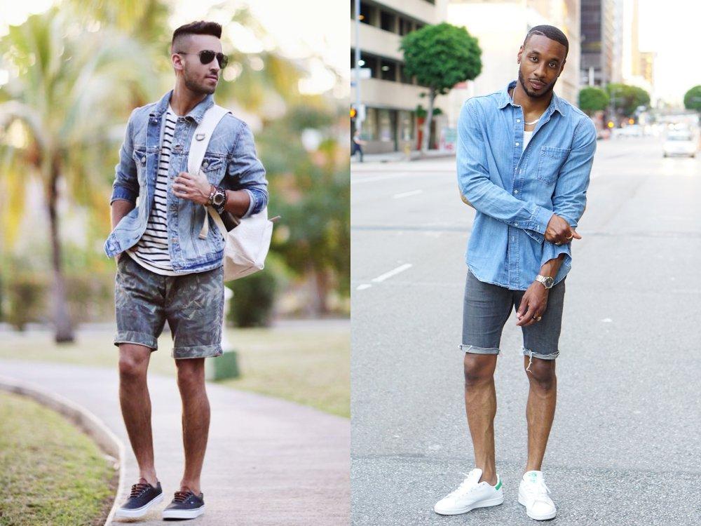 jorts short jeans mens fashion style 6 - Jorts 短牛仔裤潮流回归!