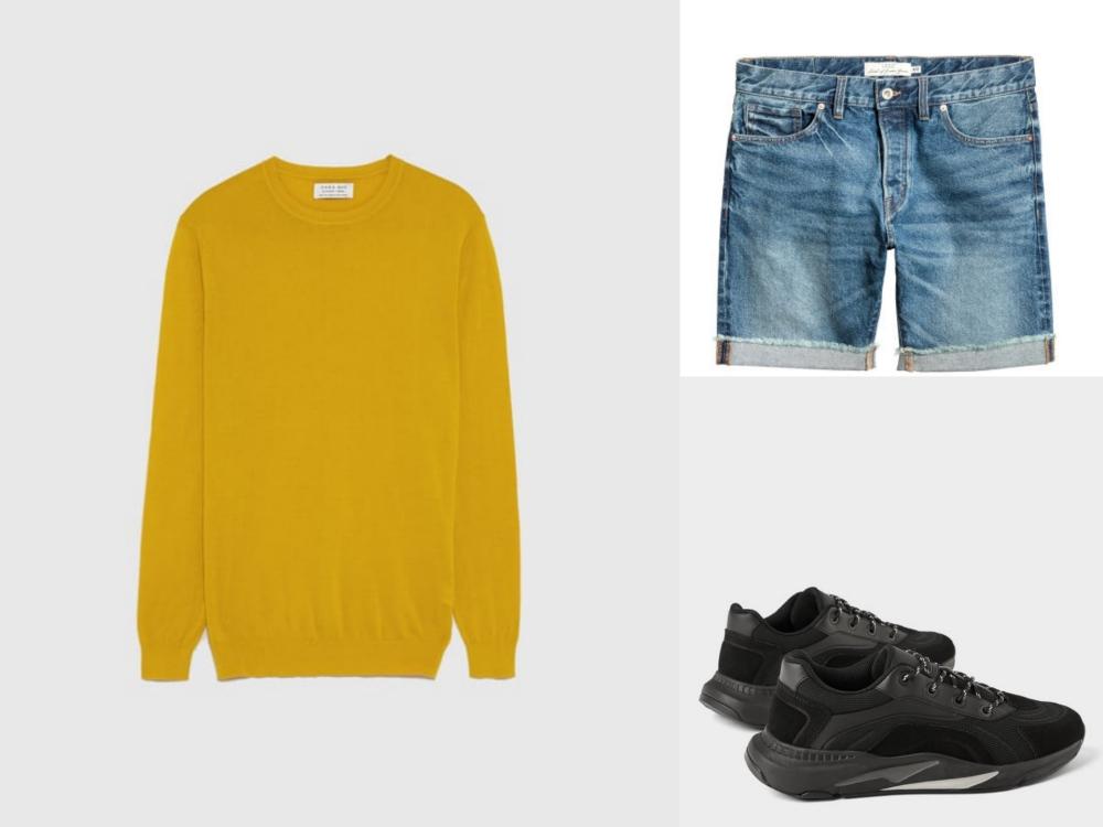 jorts short jeans mens fashion style look 2 - Jorts 短牛仔裤潮流回归!