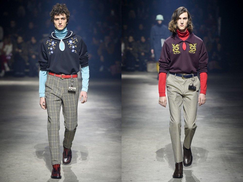 kenzo fall winter 2018 menswear 4 - 秋冬时尚看点,尽情张扬创新与气派!