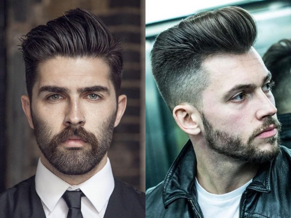 men fashion hairstyle pompadour 6 - 经典而时尚,梳好Pompadour油头发型!