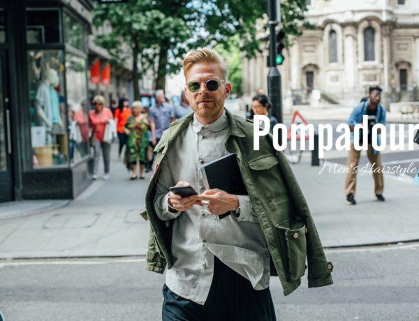 men fashion hairstyle pompadour BIG  600x460 - 经典而时尚,梳好Pompadour油头发型!