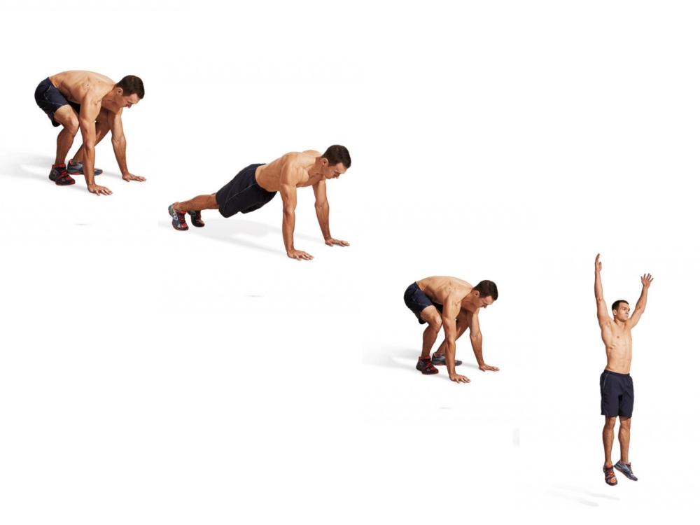 men fitness lose weight jump up  - 塑身甩脂,重拾健壮线条!