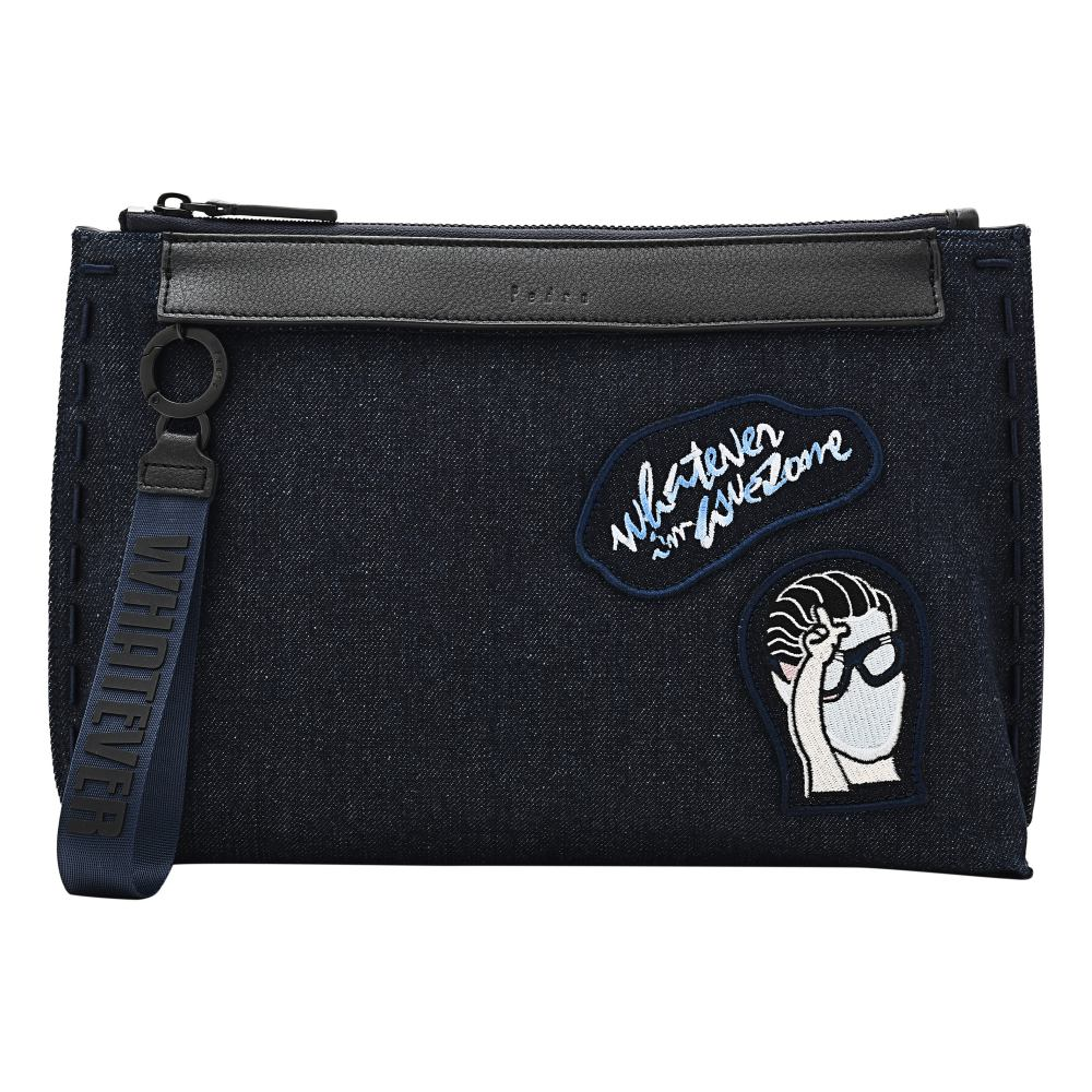 pedro whatever boy spring summer 2018 blue jean clutch - Pedro 随心所欲,自在做自己!