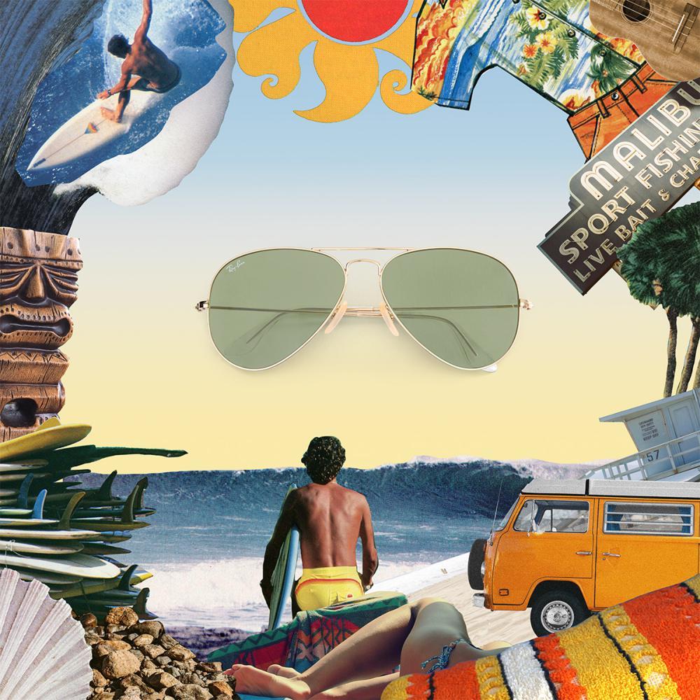 ray ban Icon Reinvented sunglasses 2018 Aviator Evolve  - 墨镜狂想记,环游世界去!