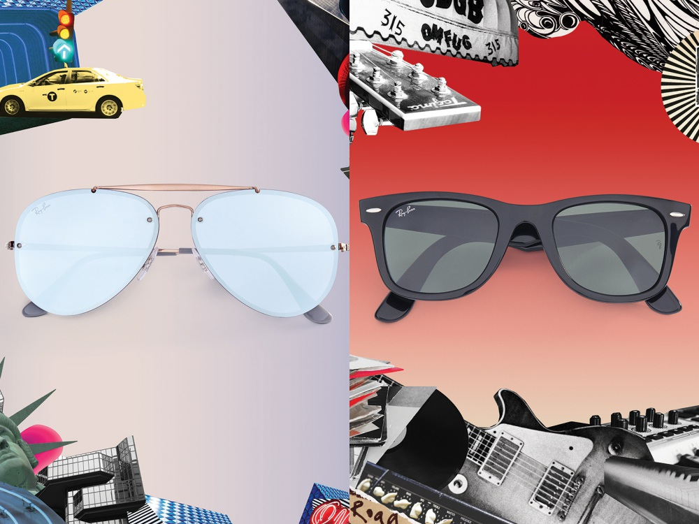ray ban Icon Reinvented sunglasses 2018 BIG - 墨镜狂想记,环游世界去!