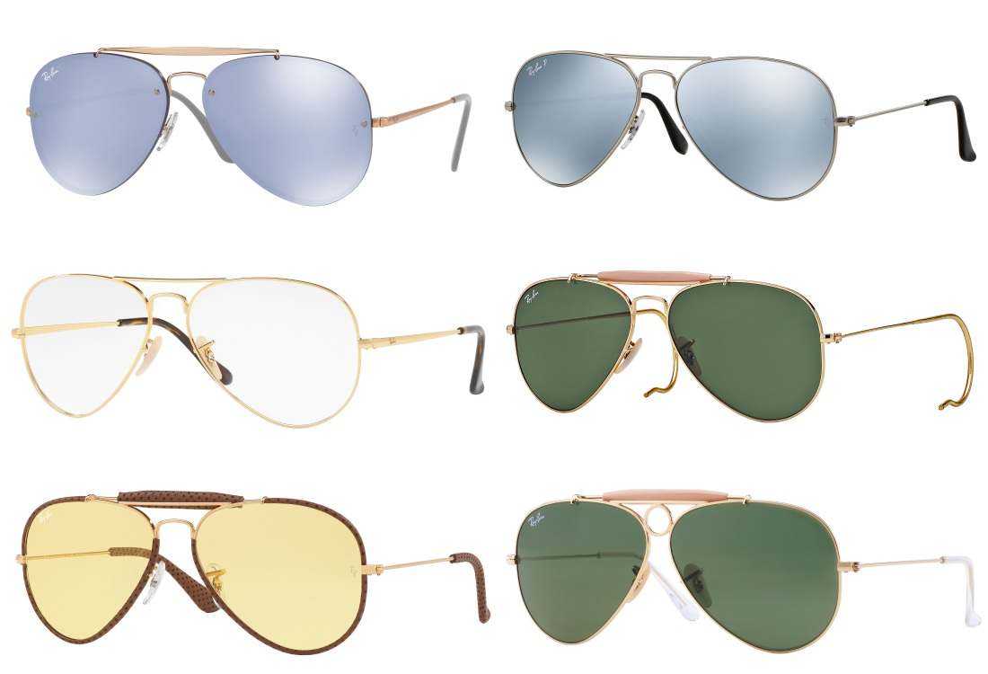 ray ban Icon Reinvented sunglasses 2018 aviator  - 墨镜狂想记,环游世界去!