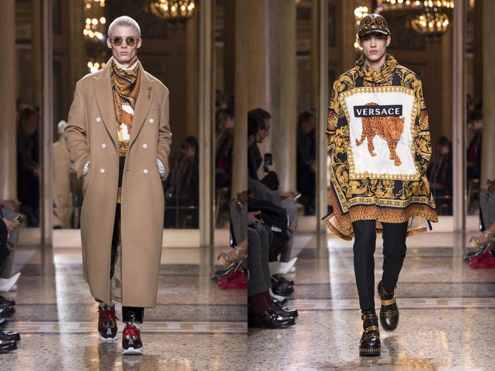 versace fall winter 2018 menswear 1 - 秋冬时尚看点,尽情张扬创新与气派!