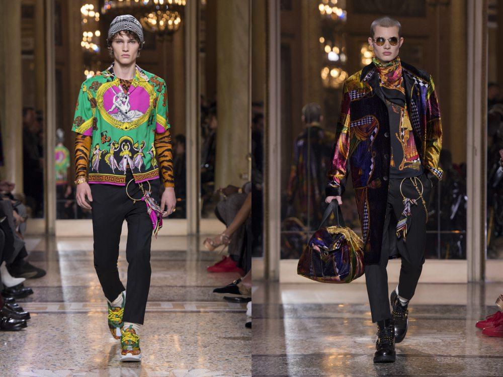 versace fall winter 2018 menswear 10 - 秋冬时尚看点,尽情张扬创新与气派!