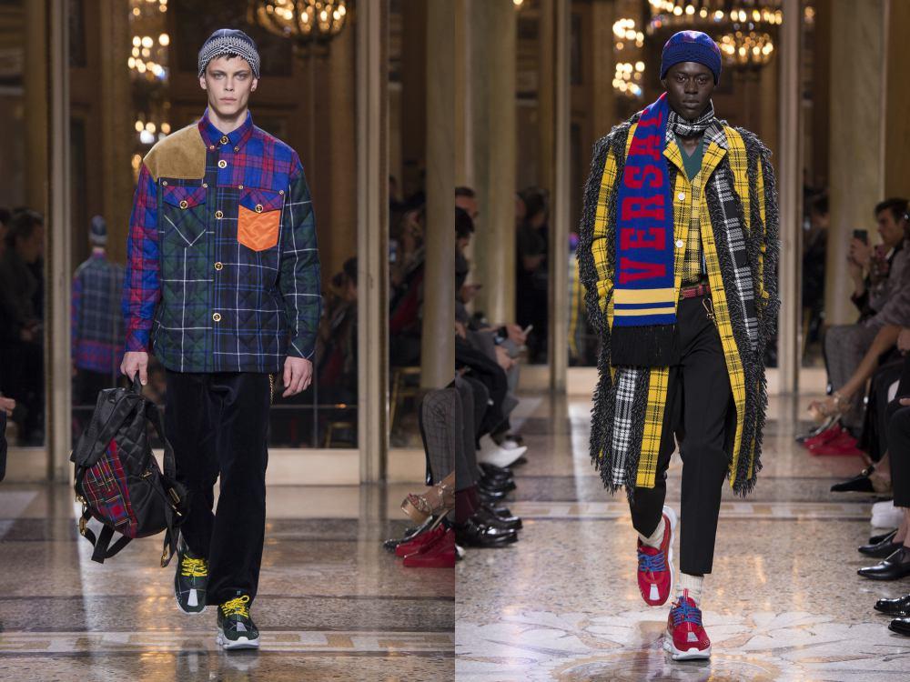 versace fall winter 2018 menswear 5 - 秋冬时尚看点,尽情张扬创新与气派!