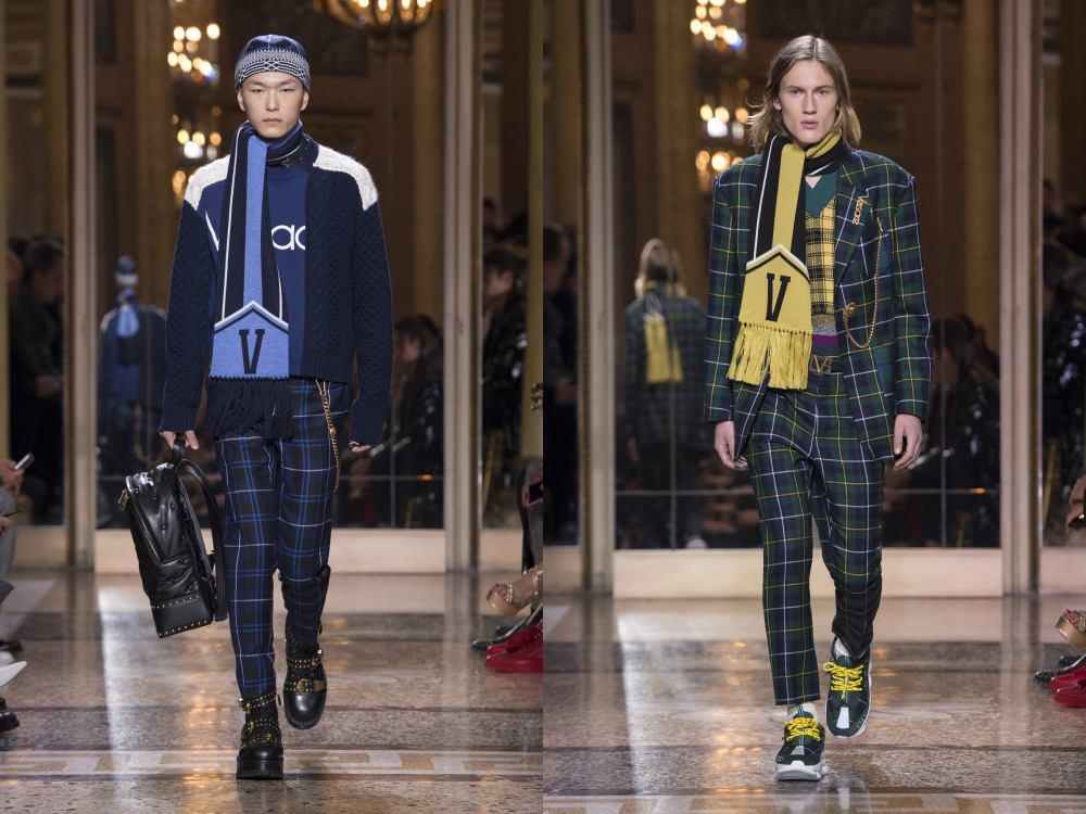 versace fall winter 2018 menswear 6 - 秋冬时尚看点,尽情张扬创新与气派!