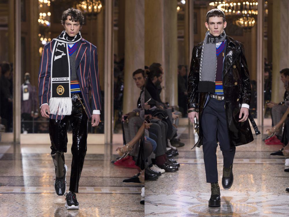 versace fall winter 2018 menswear 7 - 秋冬时尚看点,尽情张扬创新与气派!