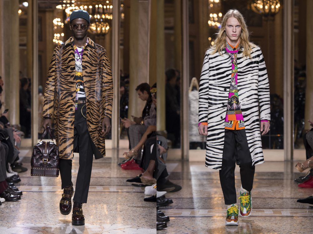 versace fall winter 2018 menswear 9 - 秋冬时尚看点,尽情张扬创新与气派!