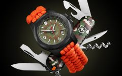 victorinox inox carbon limited edition orange strap watch BIG 240x150 - I.N.O.X Carbon 加倍轻盈有耐力!