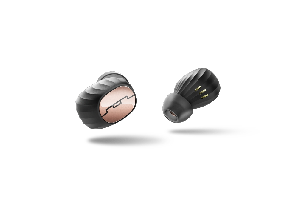 wireless earbuds SOL Amps Air Rose Gold wireless earphones  - 先进无约束的袖珍耳塞!