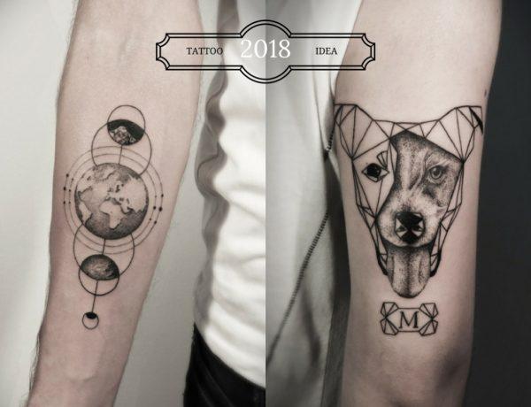 2018 tattoo idea art design BIG  600x460 - [Tattoo Idea] 7类纹身艺术,刻画出你的风格个性