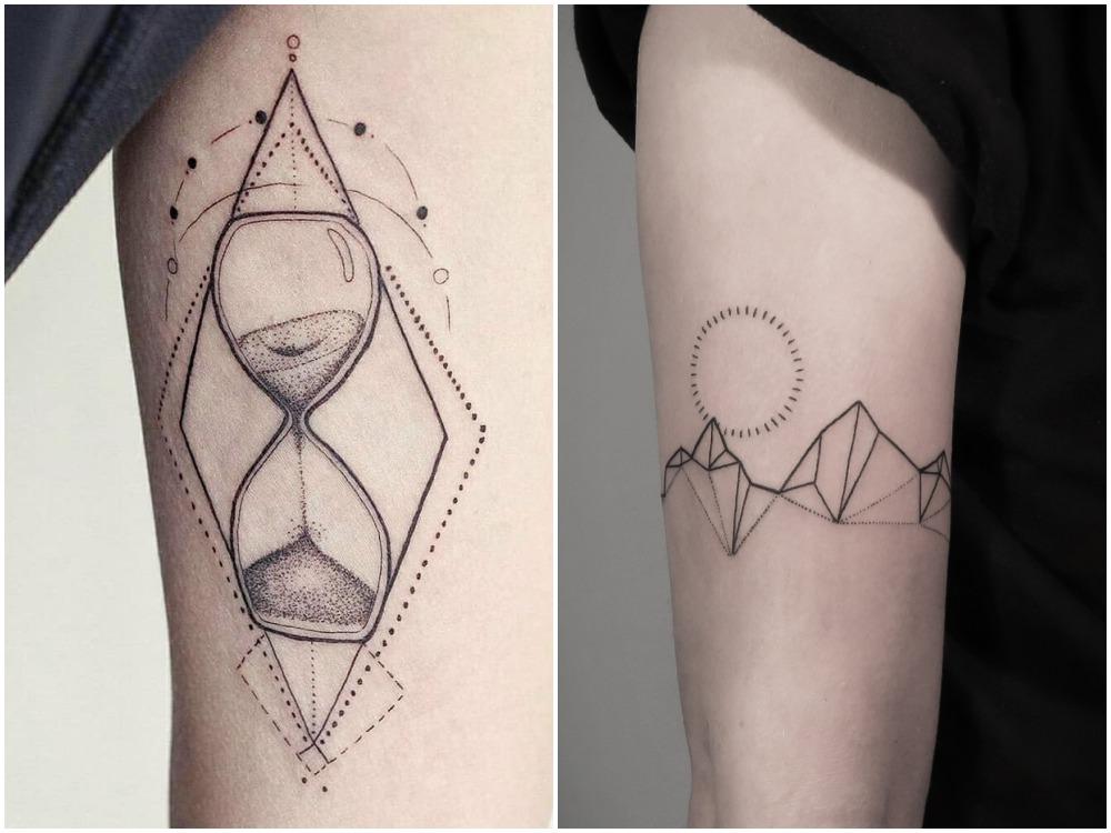 2018 tattoo idea geometirc 1 - [Tattoo Idea] 7类纹身艺术,刻画出你的风格个性