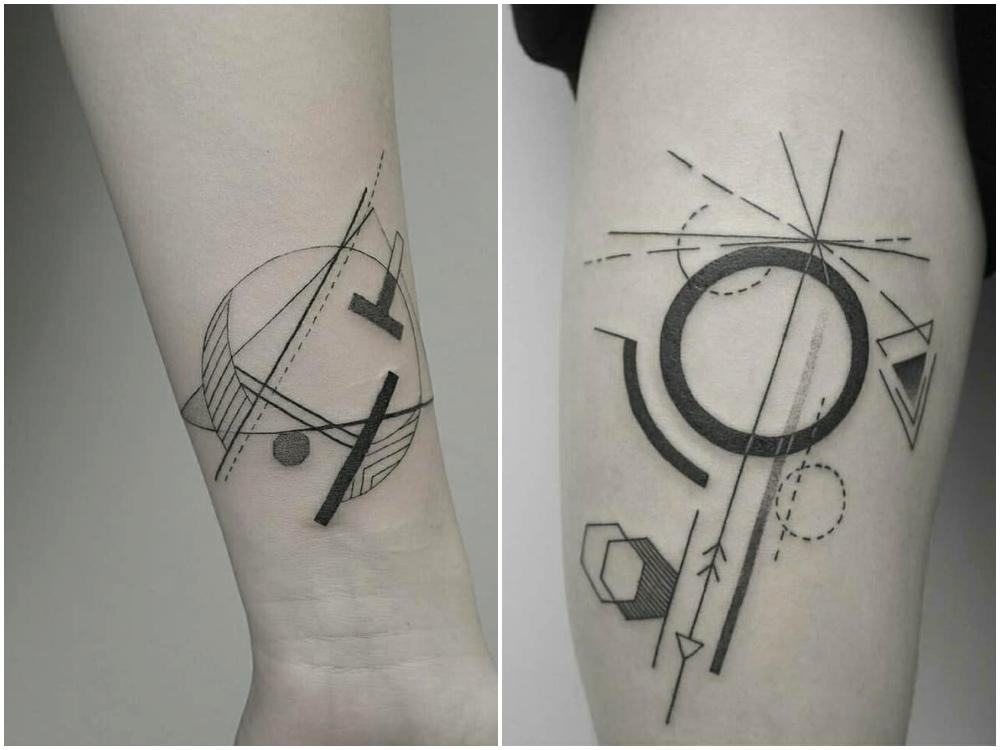 2018 tattoo idea geometirc 2 - [Tattoo Idea] 7类纹身艺术,刻画出你的风格个性