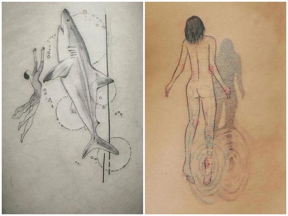 2018 tattoo idea imaginary 2 - [Tattoo Idea] 7类纹身艺术,刻画出你的风格个性