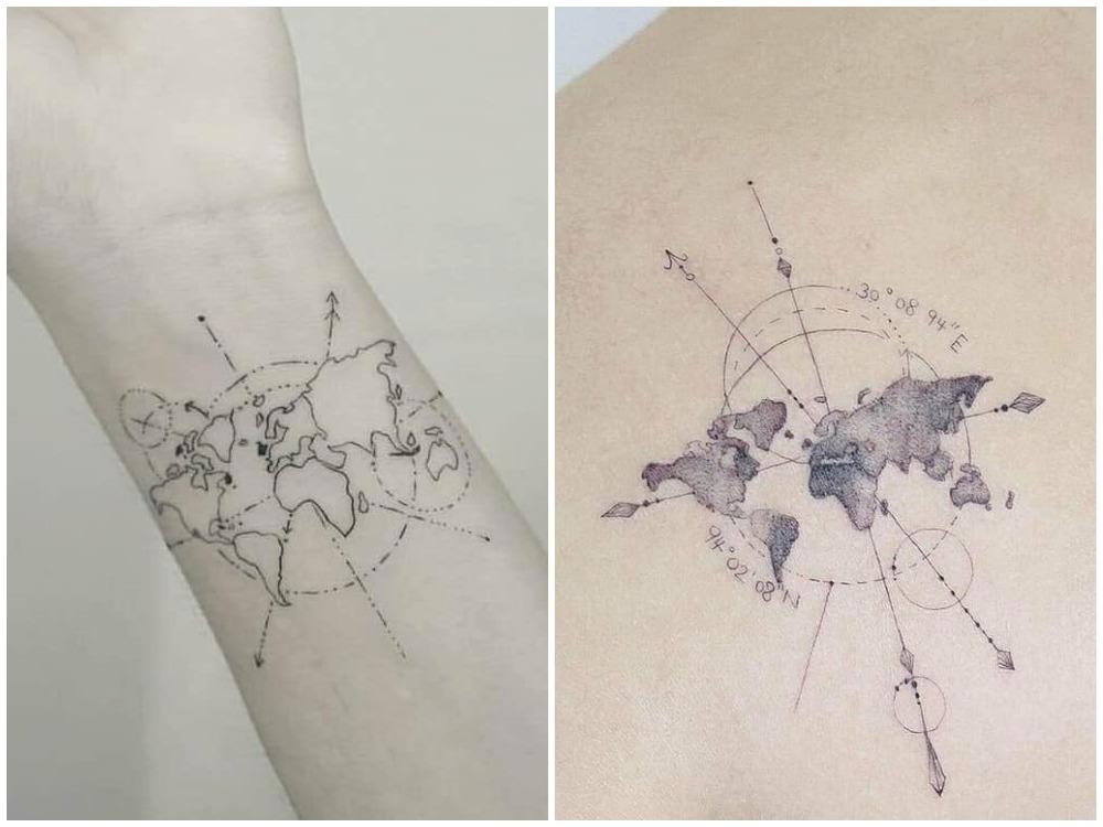 2018 tattoo idea planet 1 - [Tattoo Idea] 7类纹身艺术,刻画出你的风格个性
