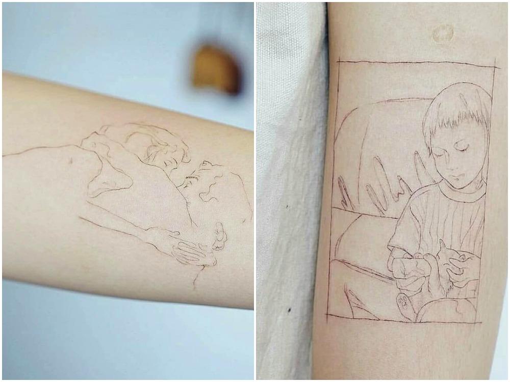 2018 tattoo idea portrait 2 - [Tattoo Idea] 7类纹身艺术,刻画出你的风格个性